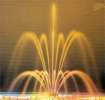 Floating Fountains